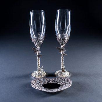 бокалы-для-жениха-и-невесты-Бабочки